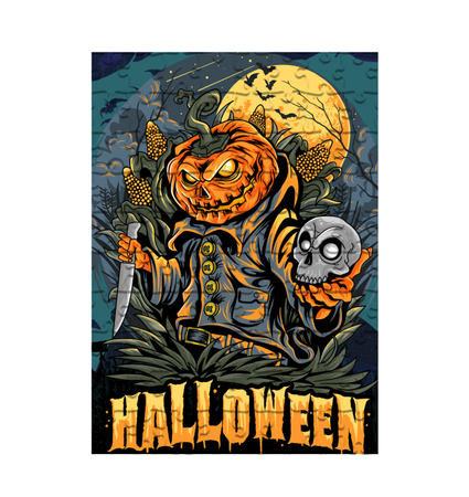 Halloween Puzzle & T-shirt