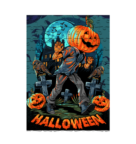 Halloween Puzzle & T-shirt #2