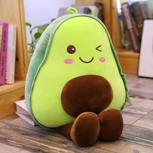Cute 3D Avocado Stuffed Plush Toy Soft