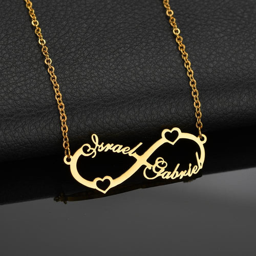 Custom Infinity Pendant Necklace For Women