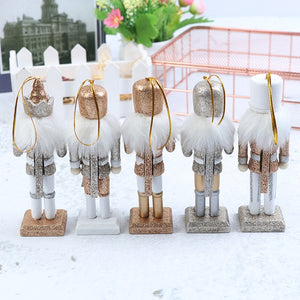 Wooden Nutcracker Solider For Children Gifts, Christmas