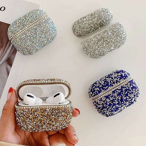 Luxury Bling Diamonds Hard Protective Shell For Airpods Pro (3rd Gen)
