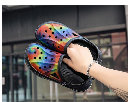 Unisex  Air Cushion Sole Slippers - Multi Designed