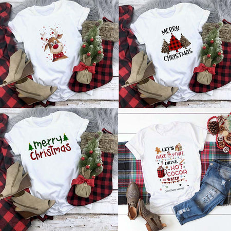 Cute Christmas Women's T-Shirt