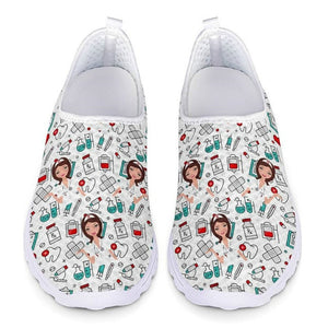 Women Sneakers - Mesh Shoes Summer Breathable