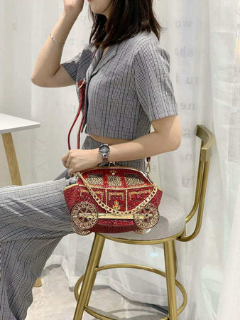 Luxury Royal Carriage Women Handbags