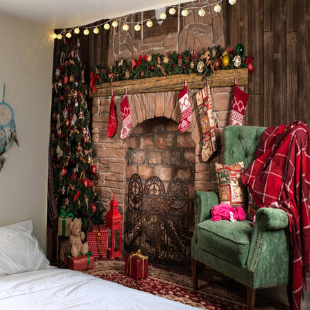 Tapestry Wall Hanging Christmas For Home