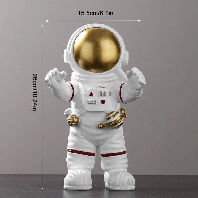 Space Astronaut Sculpture Figurine Decoration