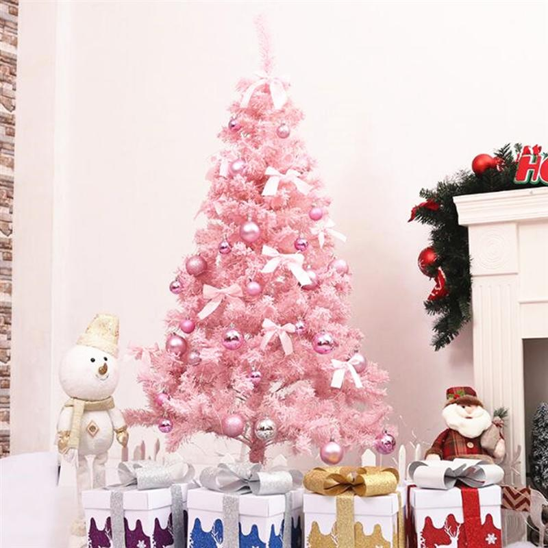Cute Pink Christmas Tree For Home Decorations