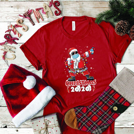 Funny Christmas Santa Claus Women T-Shirt