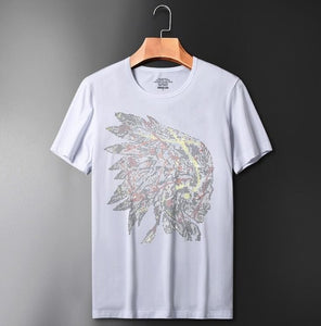 Diamond stone t-shirts man high quality