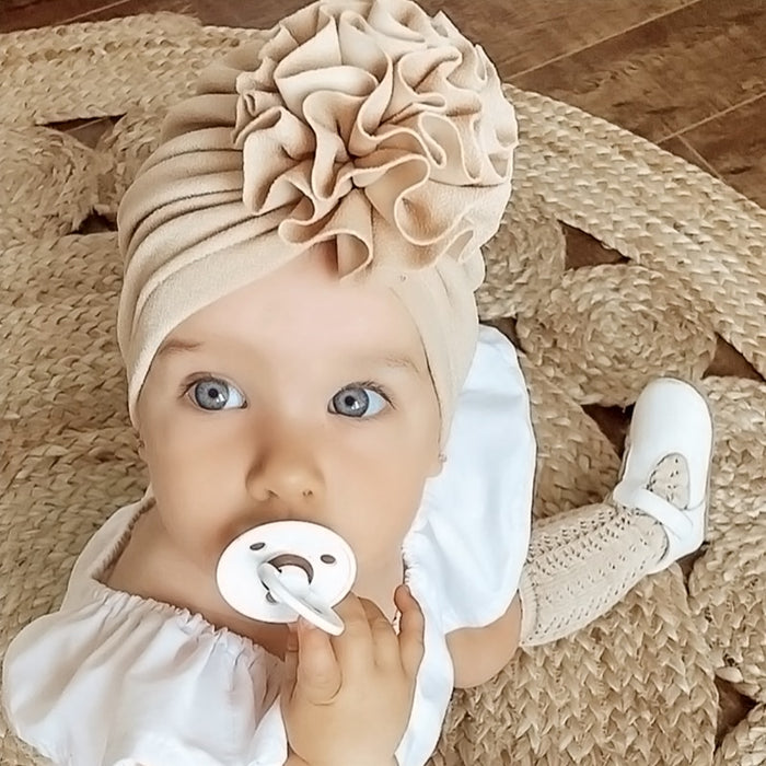 Lovely Flower Hat (Beanie) For Baby