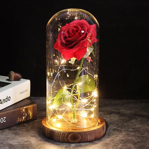 Enchanted Galaxy Rose For Christmas Valentine's Day Gift
