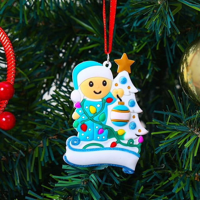 Cute Baby Kids Christmas Tree Ornamemt
