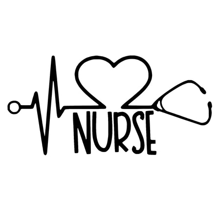 Nurse & Doctor Sticker With Free Shipping