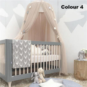 Ins Style Nordic Kids Room Decor Three Door Fantasy Hanging Mantle Nets Tents Children Bedroom Decorations Photography Props