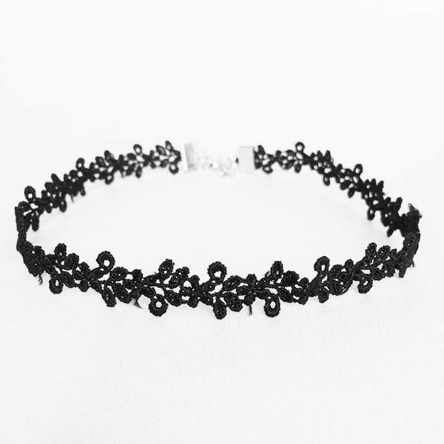 Leaves Lace Choker Necklace