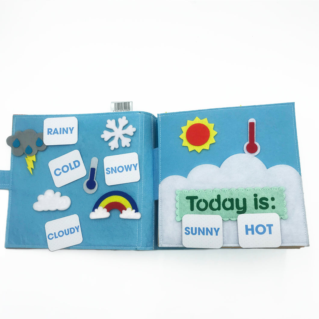 FELT ACTIVITY BOOK : BOYS EXPLORE CAREERS SV001