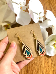Wooden Earrings KTG021