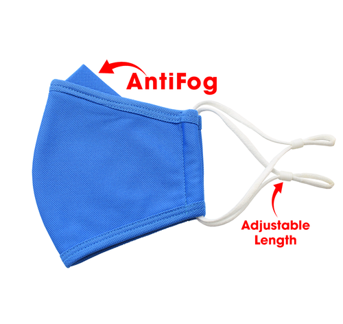 Royal Blue Adjustable Anti Fog
