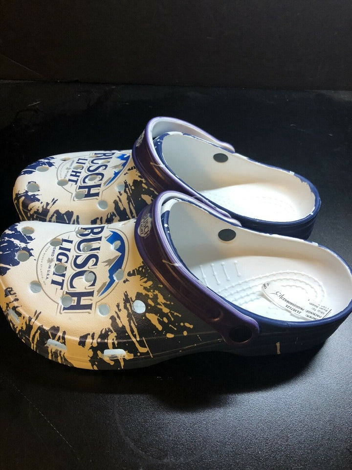 Busch Light Clog Shoes