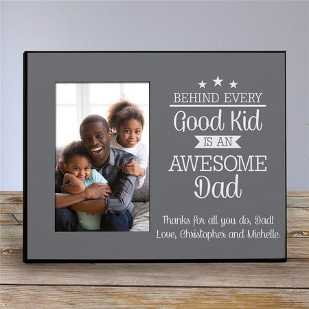 Personalized Behind Every Good Kid Frame