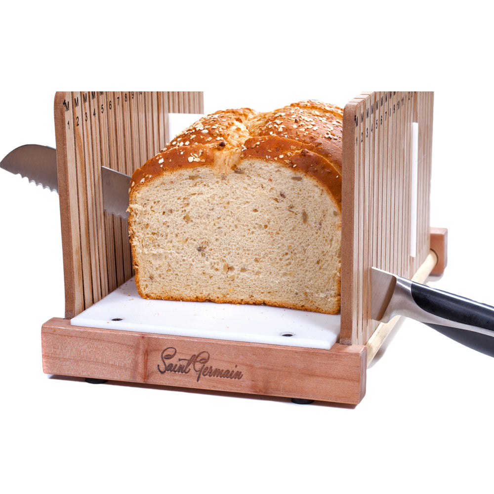 Product Features: Solid Wood Bread Slicer