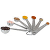 Image of Premium Stainless Steel Round Spice Measuring Spoons