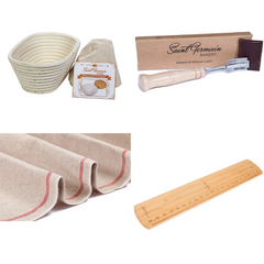 Baker's Gift Set: Essential Bread Making Tools (4 items)