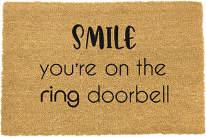 Smile You're On The Ring Doorbell