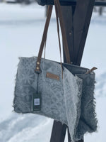 Dusty Blue Weekender Bag