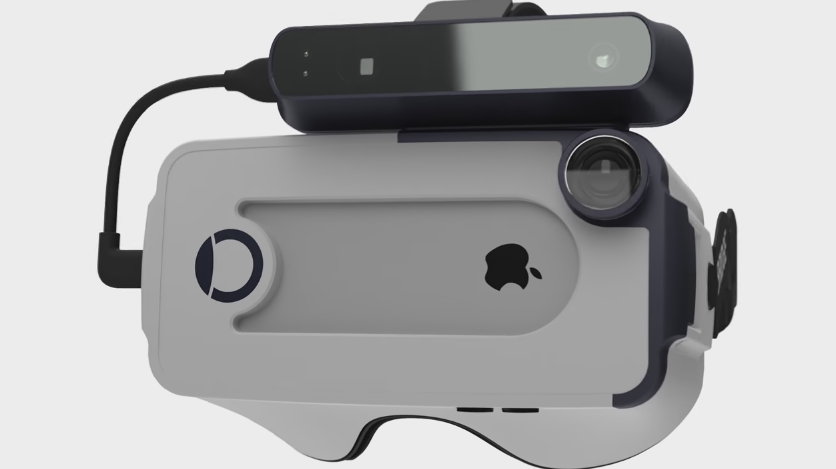 Occipital Bridge Headset 3D Scanner