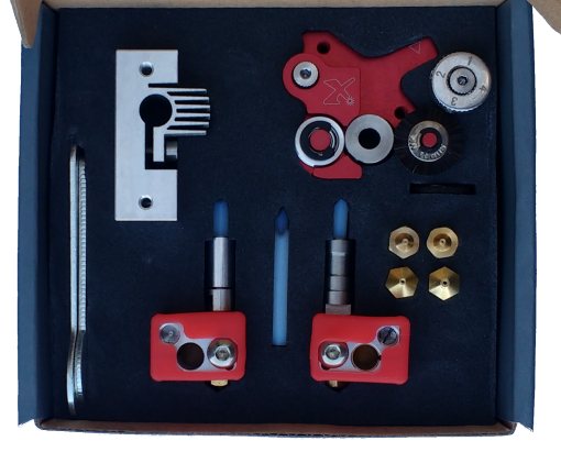 Flexion HT - Single extruder kit for Wanhao i3 (SKU002HT)
