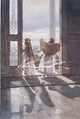 Steve Hanks - Angels Out the Door Signed Open Edition Lithograph
