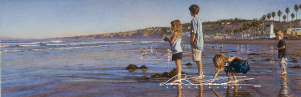 Steve Hanks - Children on La Jolla Shores