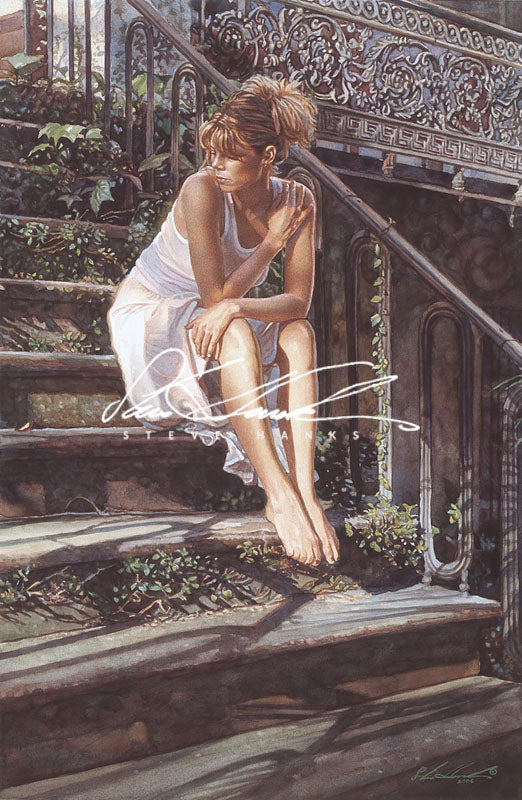 Steve Hanks - Contemplating the Necessary Steps