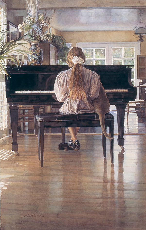 Steve Hanks - Duet Detail Print unsigned