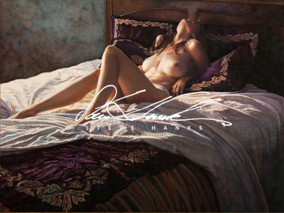 Steve Hanks - In the Soft Comfort of Her Bed