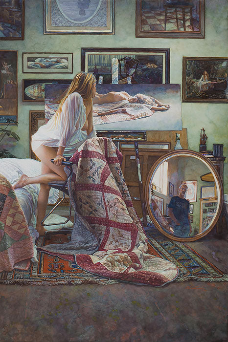 Steve Hanks - In the Artist's Studio