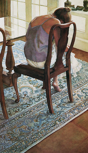 Steve Hanks - Purple Blouse