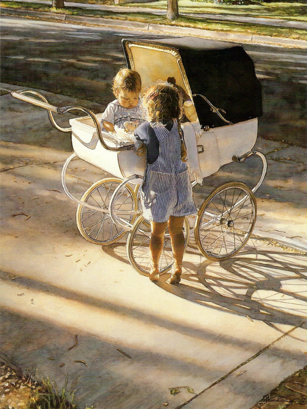 Steve Hanks - Where The Light Shines Brightest Note Cards