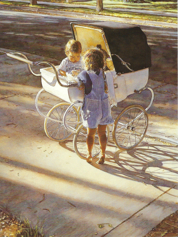 Steve Hanks - Where The Light Shines Brightest Blank Card