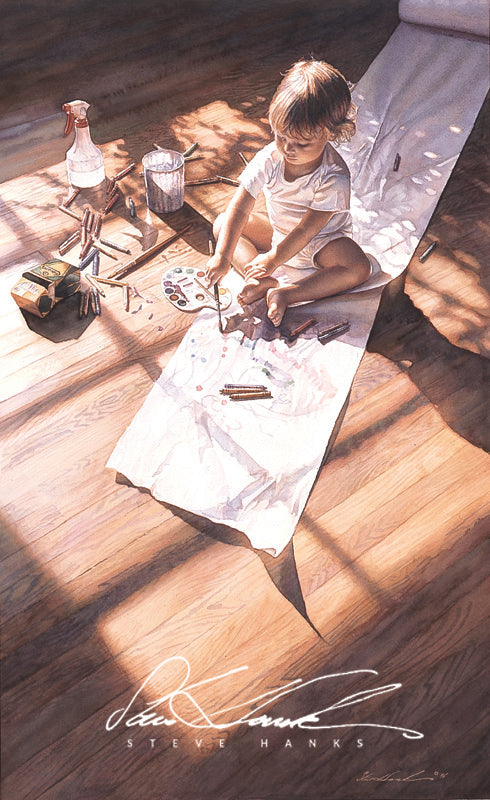 Steve Hanks - Young at Art
