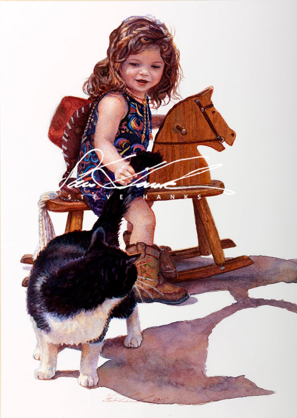 Steve Hanks  - Cat Rustler