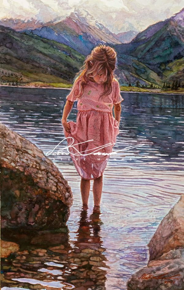 Steve Hanks - Reflections on the Lake