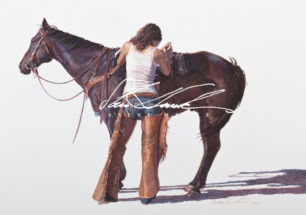 Steve Hanks - Saddling Up