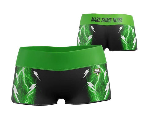"Make Some Noise Yoga Shorts 2.5"" (Pound)"