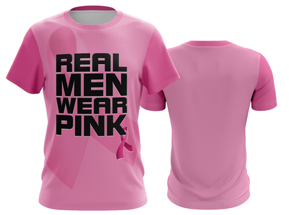 Real Men Wear Pink Crew Neck (awareness)