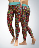 All Things Christmas Leggings