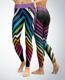 Retro Chevrons Leggings